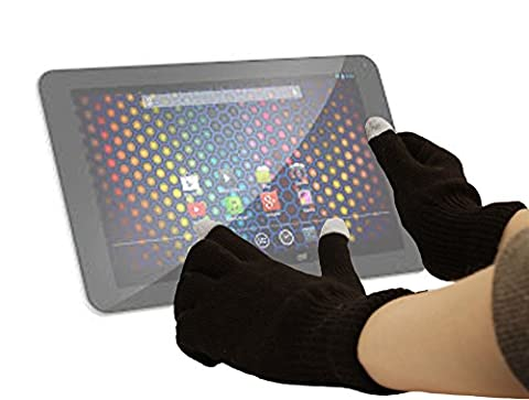 DURAGADGET Comfy Touch Screen Gloves (Small) for Archos 101 Cobalt / Archos 70 Cobalt / Archos 97 Cobalt / Archos 80 (Archos Carbon 97)