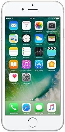 Apple iPhone 6s + Protector de Pantalla - Pack de iPhone 6S libre iOS (16 GB, pantalla de 4.7 pulgadas, cámara 12 MP) y protector de pantalla de cristal templado, color plata
