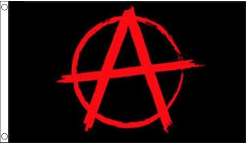 Bandiera Unisex Adulto Flag Wholesaler Anarchy