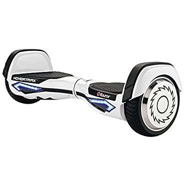 Razor Hovertrax 2.0 Hoverboard Self-Balancing Smart Scooter (White, 15155010)