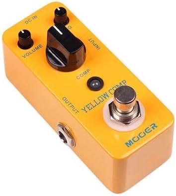 MSG1 MOOER Chitarra Effetti Pedale Acustica Pedale volume motore lento con 2 plettri per chitarra