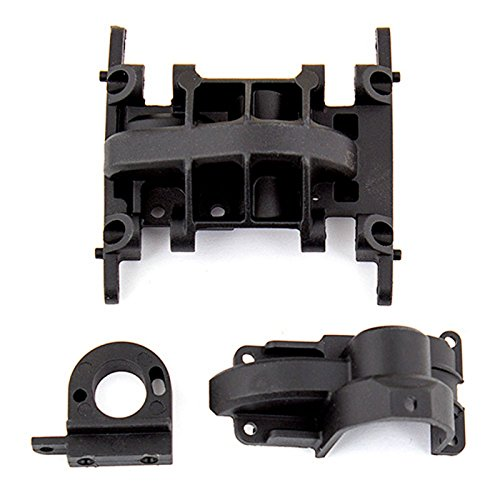 - Team Associated Gearbox and Motor Mount: CR12, ASC41003