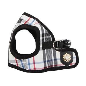 Puppia Authentic Junior Harness B, Large, Black
