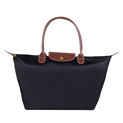 Shoulder Foldable Beach Black Sizes Nylon Shopping Bags Travel Bag Waterproof 3 Handbag Available Unisex Hand Tote Butterme For HvnXA0qv