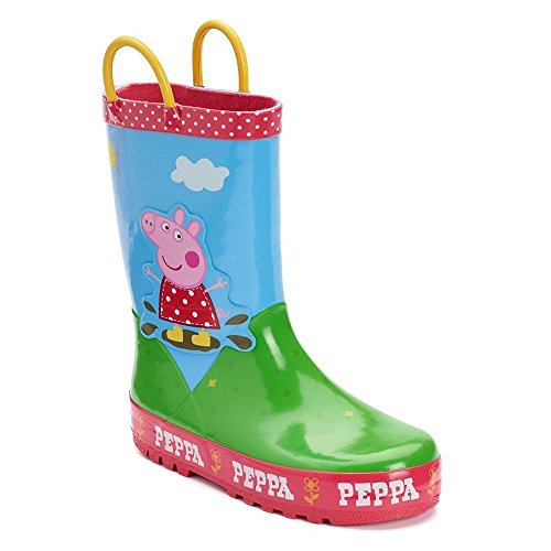 Peppa Pig Toddler Girl's Muddy Puddles Rain Boot, Size - Muddy Pig
