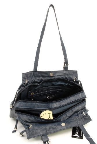 hombro CATWALK ALICE COLLECTION Oscuro Azul de Bolso Cuero rrCgnfIq