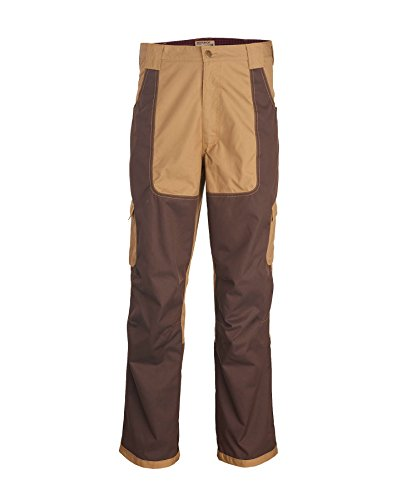 Upland Brush Pants - Woolrich Men's Thornrich Field Briar/Brush/Upland Pants, Sediment (Beige), Size 38W x 32L