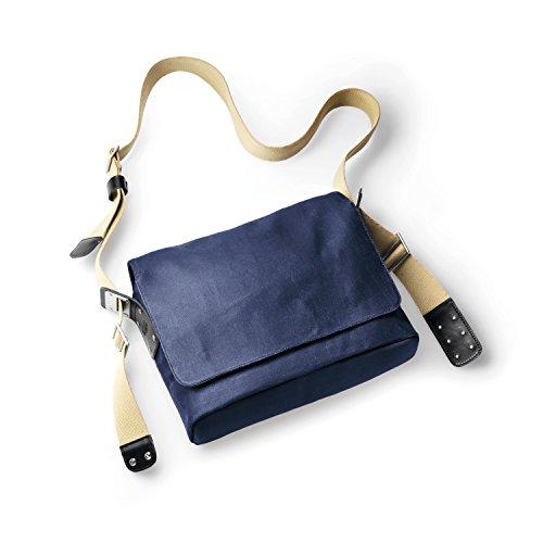 Brooks Paddington Shoulder Bag Canvas dark blue / black 2017 Tasche