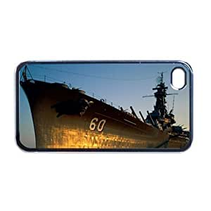 USS Alabama battleship Apple RUBBER iPhone 5 Case/Cover Verizon or At&T Phone Great unique Gift Idea