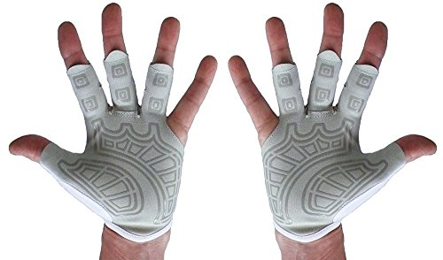 Rowing-Gloves-Gym-Gloves-Left-Hand-Right-Hand-Pair-Textured-Palm-Best-Comfortable-Scull-Fingerless-Gloves-for-Men-Women