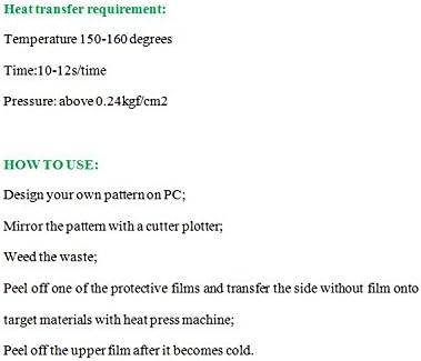 Yiyu Papel de Transferencia Térmica, Hojas Adhesivas de Transfer ...