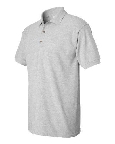 Gildan Ultra Cotton 6.5 oz. Piqué Polo, 2XL, SPORT GREY (Shirt Ultra Sport Pique Cotton)