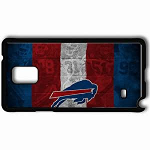 Personalized Samsung Note 4 Cell phone Case/Cover Skin 1513 buffalo bills Black by supermalls