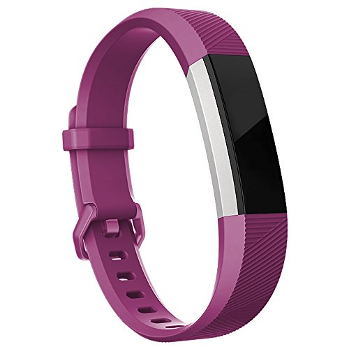Fitbit Alta HR Bands Fitbit Alta Bands Fuchsia Small,RedTaro Adjustable Replacement Accessory Bands/Straps/Bracelets for Fitbit Alta HR/Fitbit Alta for Women/Men(no Fitbit Fitness Trackers)