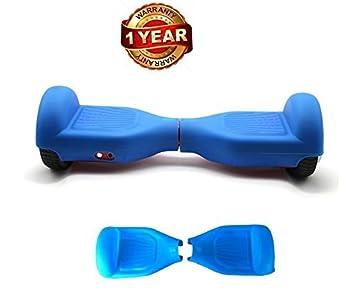 Azul Silicona caso arañazos protector Wrap cubierta de goma para 6.5 ...