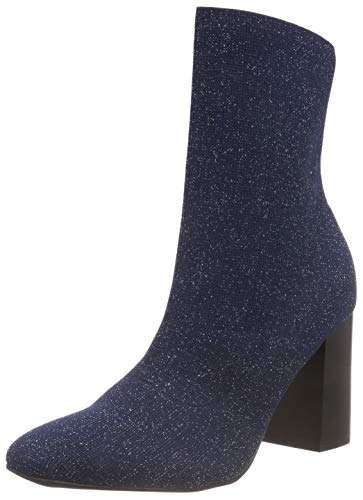 Bleu Navy Femme Knit 305 Blue Bianco Bottines Boot Sw14Zx6Fq