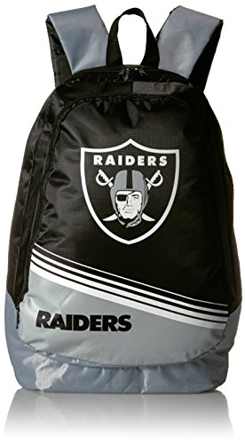 Nfl Gnome Raiders Oakland - Oakland Raiders 2015 Stripe Core Backpack