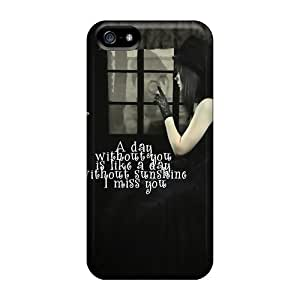 New Hard Cases Premium Iphone 5/5s Skin Cases Covers(a Day Wdout You)