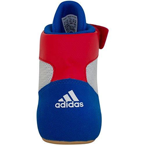 Adidas Hvc cordones zapatos de lucha - 14 - azul / rojo / blanco Blue/red/white