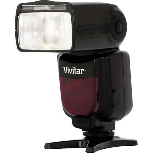 Vivitar DF-683 Radio Wireless TTL Power Zoom Flash for Nikon Camera