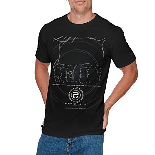 COREY HUTCHINSON Mens Classic Periphery T-Shirt M -