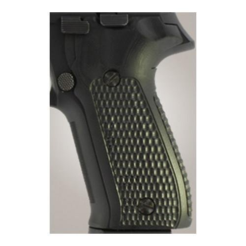 Hogue 26139 Sig P226 Grips, Pirahna G-10 Solid black by Hogue (Image #1)