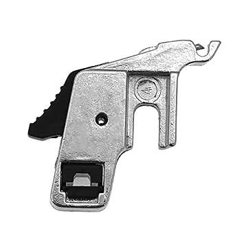 Westsell 1pc prensatelas de cuentas redondas para máquina de coser Singer Brother doméstica baja vástago rodillo prensatelas piezas para máquina de coser: ...