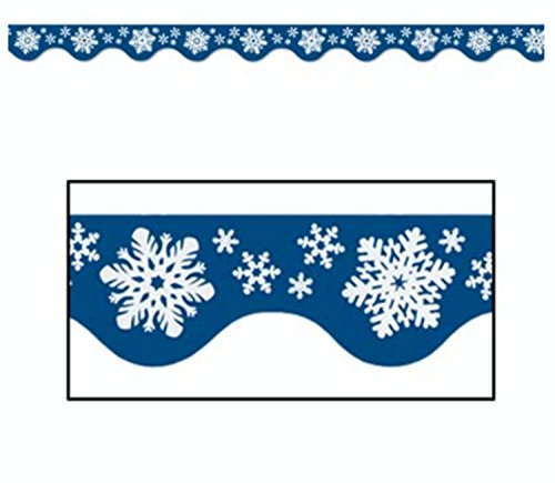 Pack of 144 Colorful Winter Snowflake Bulletin Board Bord...