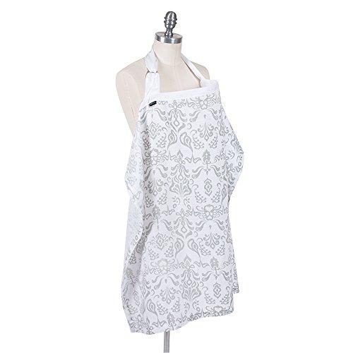 Bebe au Lait Premium Muslin Nursing Cover, (Au Lait Cotton)