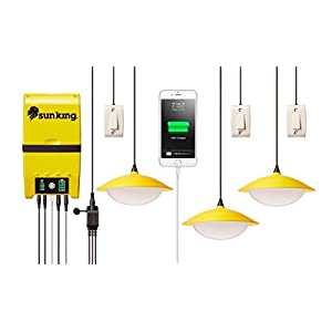 41kR%2BwHgsGL. SS300  - Greenlight Planet Home 120 Solar Lighting System Plus USB  Charger