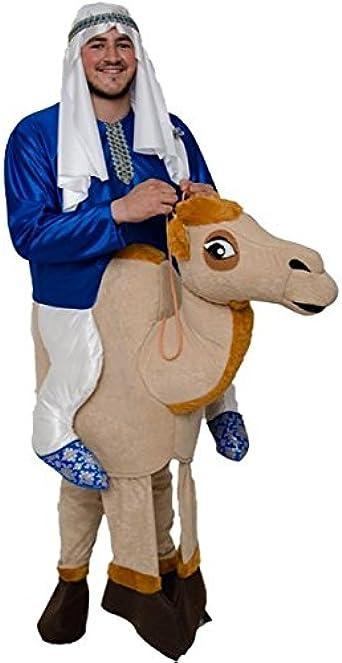 Disfraz de Jeque en Camello - Unisex, L: Amazon.es: Ropa y ...