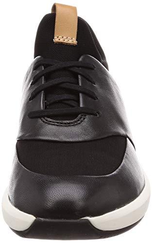 Zapatillas Un Mujer Lace black Negro Clarks Black Leather Rio Para Leather dpxBPPtq