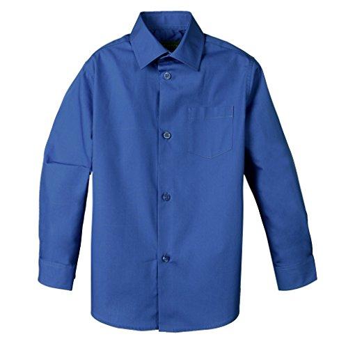 - Spring Notion Baby Boys' Long Sleeve Dress Shirt 18M Royal Blue