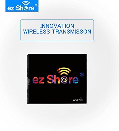 ez Share 32GB 64GB Wireless Wifi Compact Flash Class 10 CF Memory Card High Speed for Camera Canon Nikon Sony FU JIFILM series (32GB) by adventurers (Image #6)