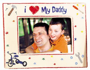 Russ Berrie Skribbles I Love My Daddy Picture Frame Amazoncouk