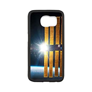 NASA Satellite Orbiting Earth Samsung Galaxy S6 Cell Phone Case White phone component AU_549628