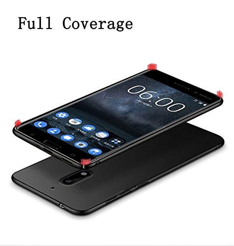 Estuche A Adamark 2018 Nokia Cubierta Pc Anti para Funda r 6 scratch golpes protectora parachoques delgada de para Funda prueba ultra Scrub pv04rdBqv