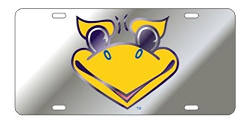 - Kansas Jayhawks Laser Cut Inlaid Mirrored Silver Jayhawk Face Plate