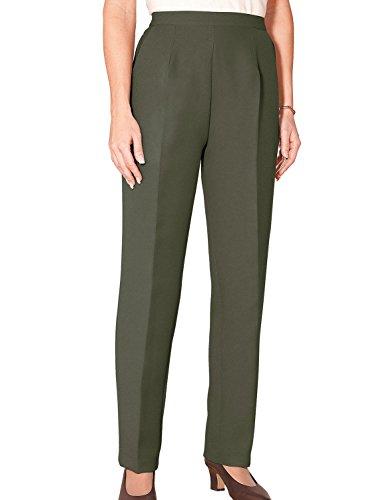 Mesdames Laine Touch Pantalon Vert 40cm x 74cm