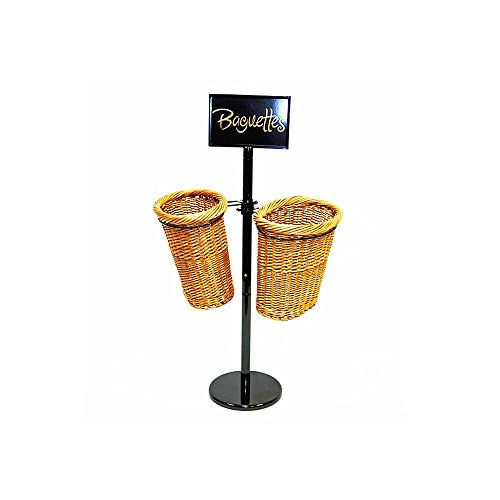 Mobile Merchandisers BS36/2 2-Basket Display Rack for Baguettes - Kit by Mobile Merchandisers