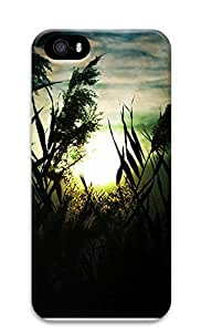 iPhone 5 5S Case Fascinating sunset scenery 3D Custom iPhone 5 5S Case Cover