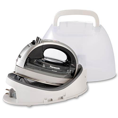 Panasonic NI-WL600 Cordless, Portable 1500W Contoured Multi-Directional Steam/Dry Iron, Stainless Steel Soleplate, Power…