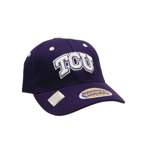 Texas Christian Horned Frogs TCU NCAA Youth 1-Fit Hat