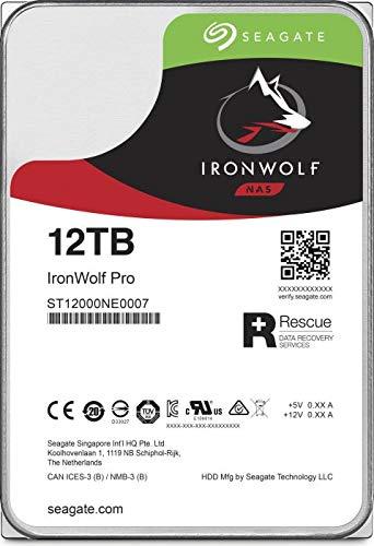 Seagate IronWolf Pro ST12000NE0008 12 TB Hard Drive - 512E Format - SATA 600-3.5