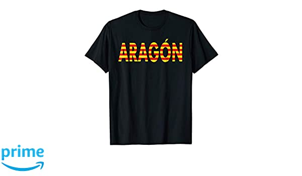 Amazon.com: Aragon Shirt Camiseta de Espana Zaragoza Spaniards Shirt: Clothing