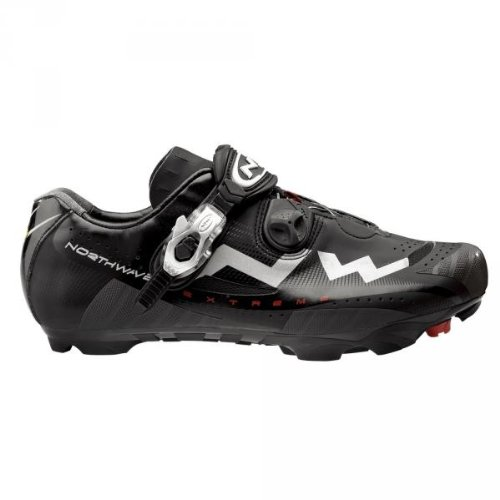 Northwave Extreme Tech Matte Black Mountain Bike Shoe Size 42 Shimano SPD Review