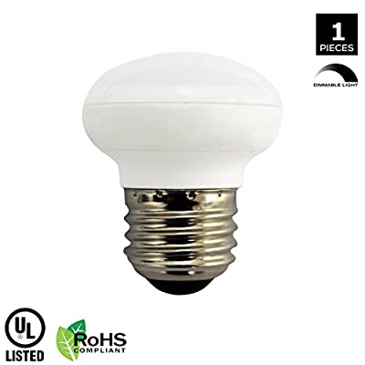 R14 LED Light Bulb, 4.5w (40w Equivalent), Dimmable, 300 Lumens, 3000k Soft White, E26 Medium Base, RoHs Compliant