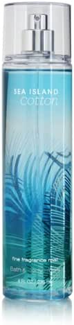 Bath Body Works Sea Island Cotton 8.0 oz Fine Fragrance Mist