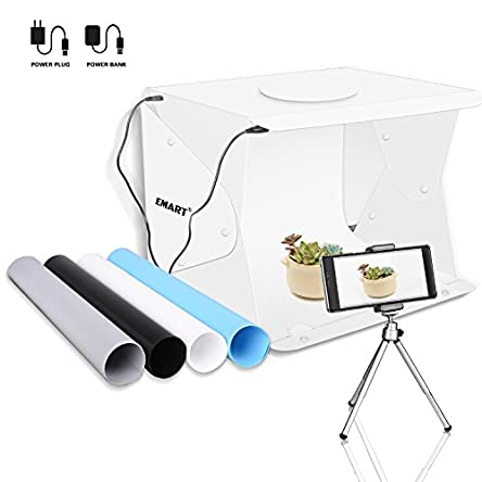 Upgrade Emart 14″ x 16″ Photography Table...