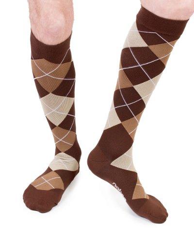 Nabee Socks Women's Cocoa Socks, X-Large, Brown/Beige